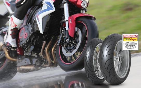 Mootorratta rehvid test 2018 sport touring