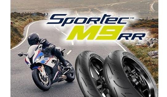 Uus rehv sportec M9RR
